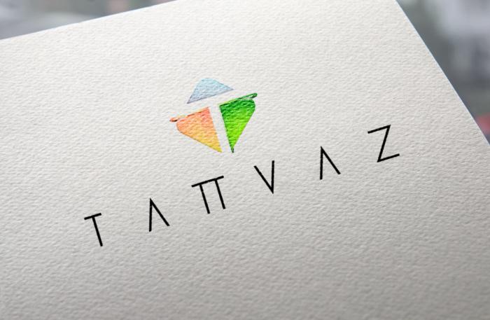 Natural Paper Printed Logo MockUp Tatvaz 001