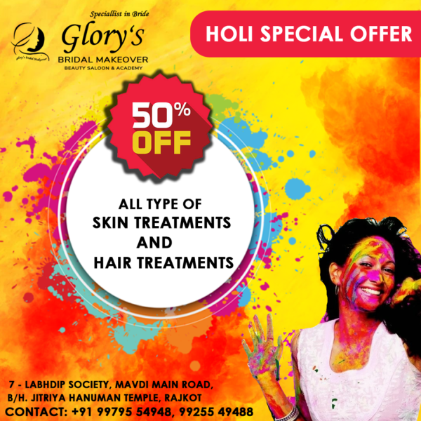 Holi Special Offer skin treatment