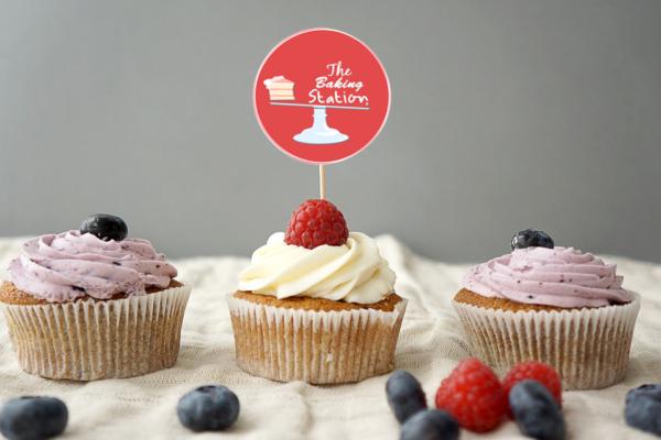 baking logo mockup