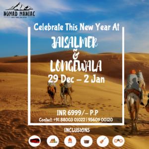 jaisalmer longewala New Year Trip